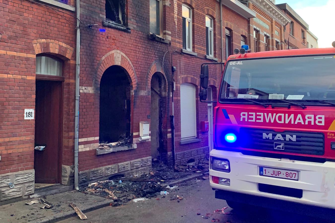 De brand situeerde zich in de Buizemontstraat in Geraardsbergen.