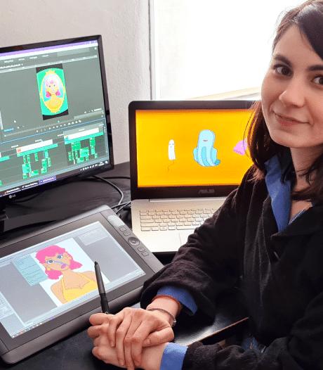 Natali (32) maakt animatievideo's: 'Als kind was verhaaltjes verzinnen mijn grootste bezigheid'