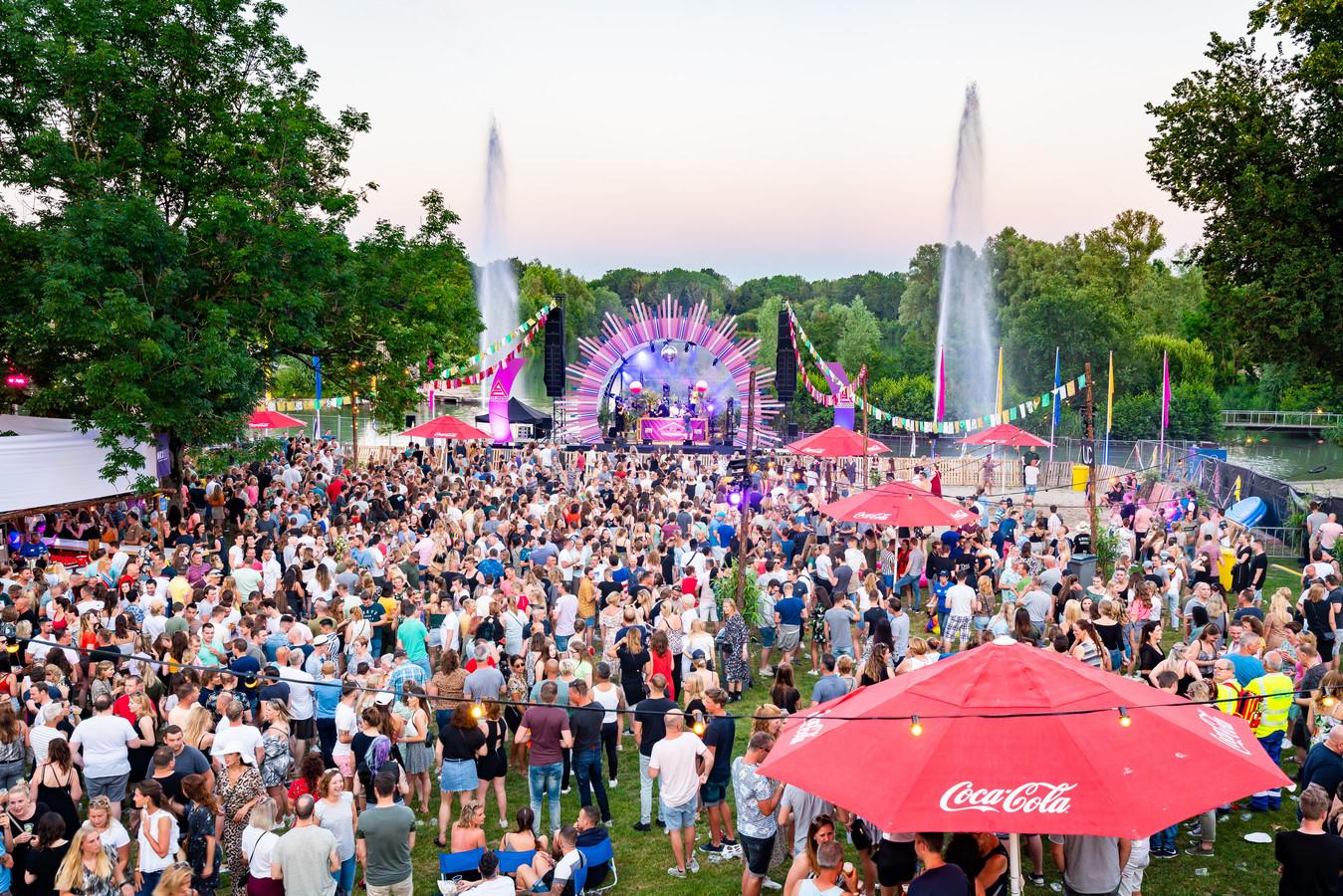 Sfeerbeeld van eerdere editie van Greatest Hits Festival.