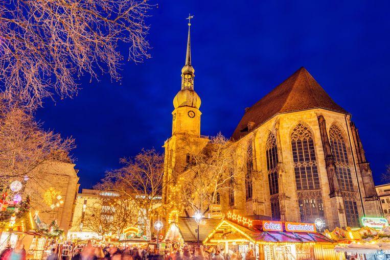 Kerstmarkt in Dortmund Beeld Getty Images