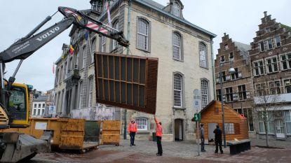 Kerstride op Zimmerplein is één van de blikvangers tijdens Kerst in Lier