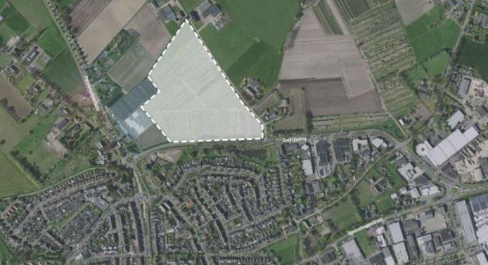 Mogelijk nieuw bedrijventerrein langs de Bedrijfsweg en Spreeuwenburgerweg in Oisterwijk