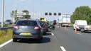 Ongeluk A1 bij Deventer.