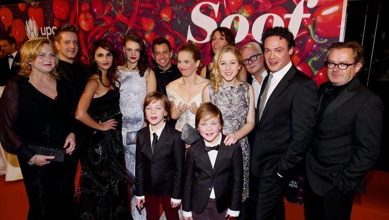 De cast van Soof. Beeld anp