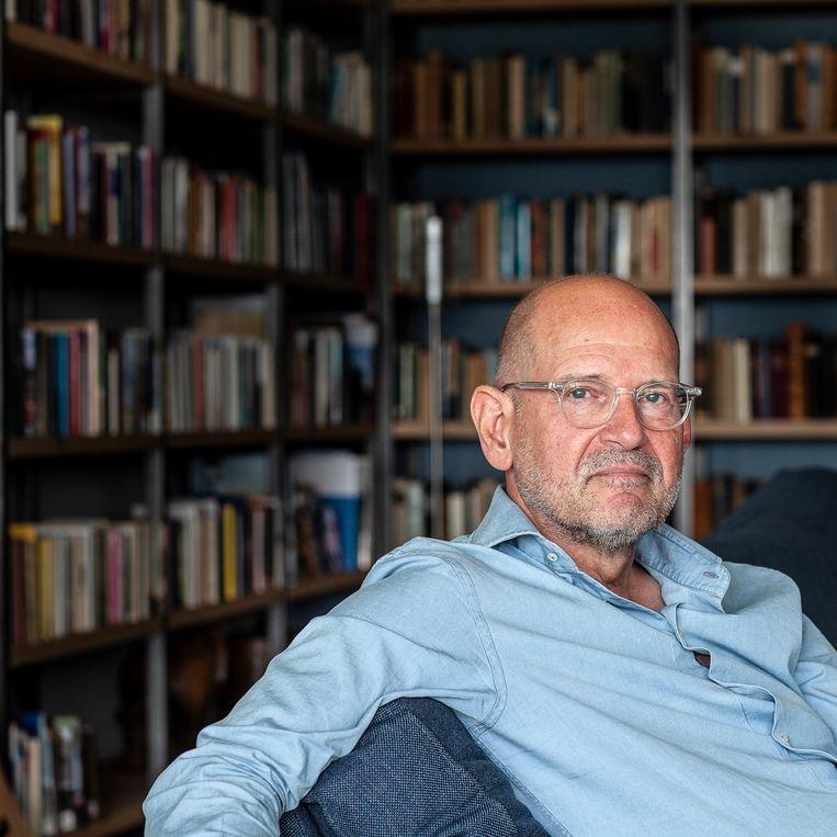 Hans Engels: 'De weg ligt nu open voor wat wij echt willen: een bindend, correctief referendum.' Beeld Harry Cock