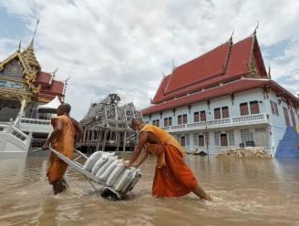 Zware overstromingen en zes doden door tropische storm in Thailand