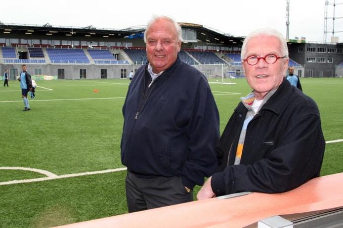 Bob Maaskant (links) en Henk van Ginkel komen even graag bij GA Eagles als bij FC Zwolle.foto Tom van Dijke