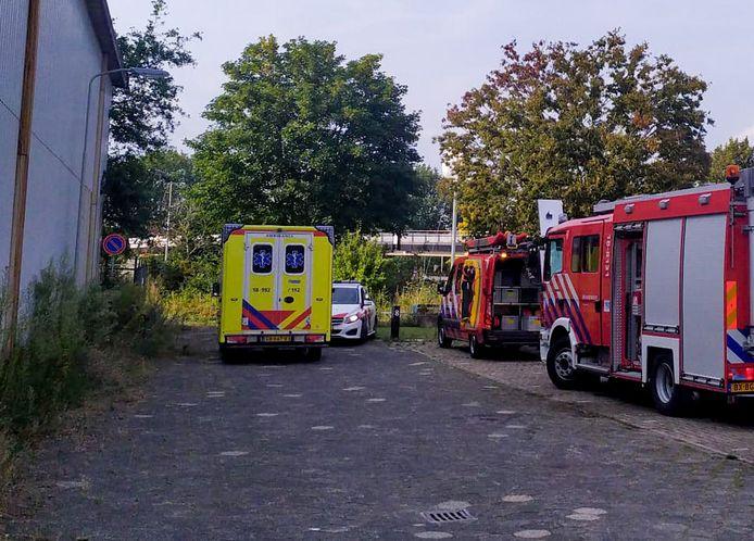 Hulpdiensten uitgerukt naar Gorinchem.