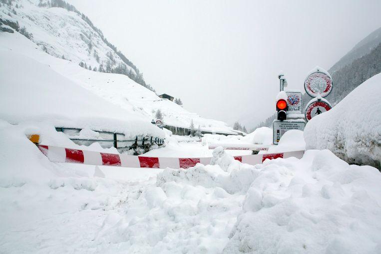 Het Zwitserse oord Zermatt is afgesloten van de buitenwereld