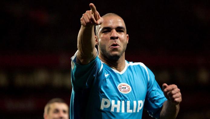 Alex in zijn tijd bij PSV