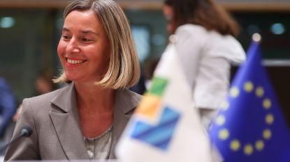 """EU gaat niet in op Amerikaanse vraag om Iran te isoleren en """"doet er alles aan"""" om nucleair akkoord met Iran te laten overleven"""