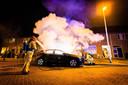 Autobrand in Eindhoven