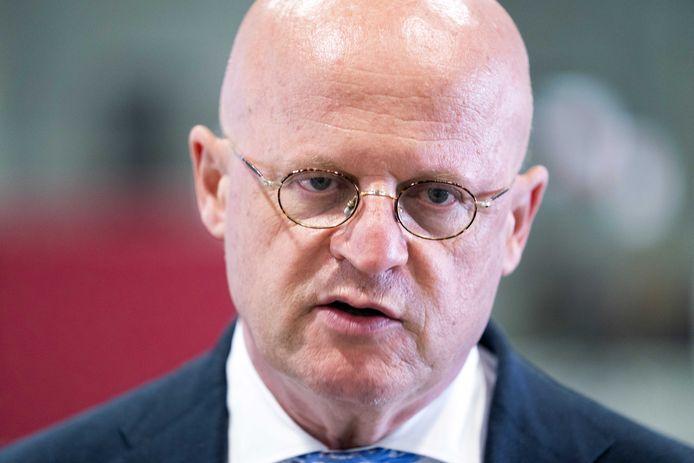 Demissionair minister Ferd Grapperhaus (Justitie).