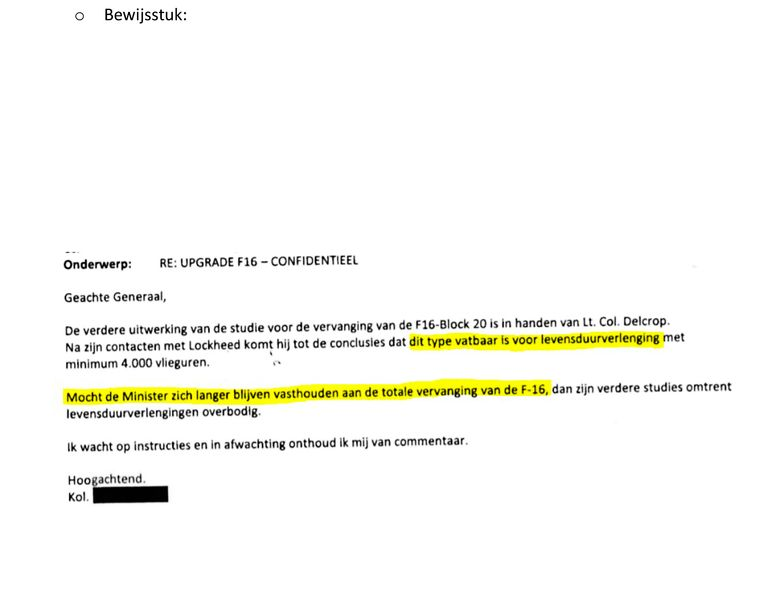 De eerste mail, uit april. Beeld rv