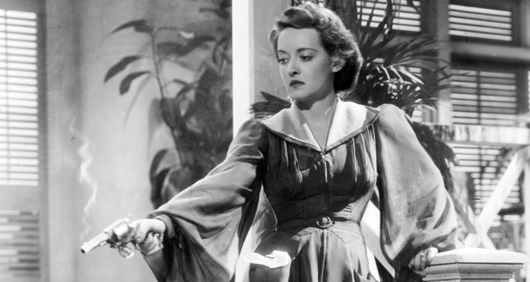Bette Davis in The Letter (1940). Beeld Filmstill