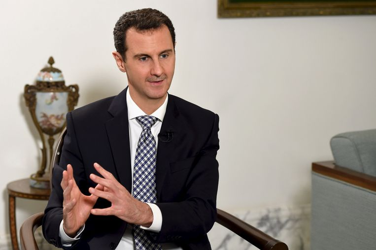 President Assad. Beeld REUTERS