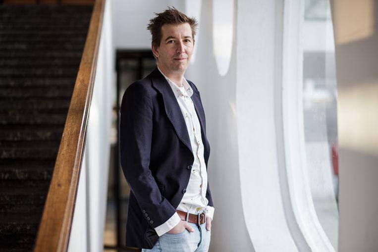 Paul Hermans, directeur van Literatuur Vlaanderen. Beeld Bob van Mol