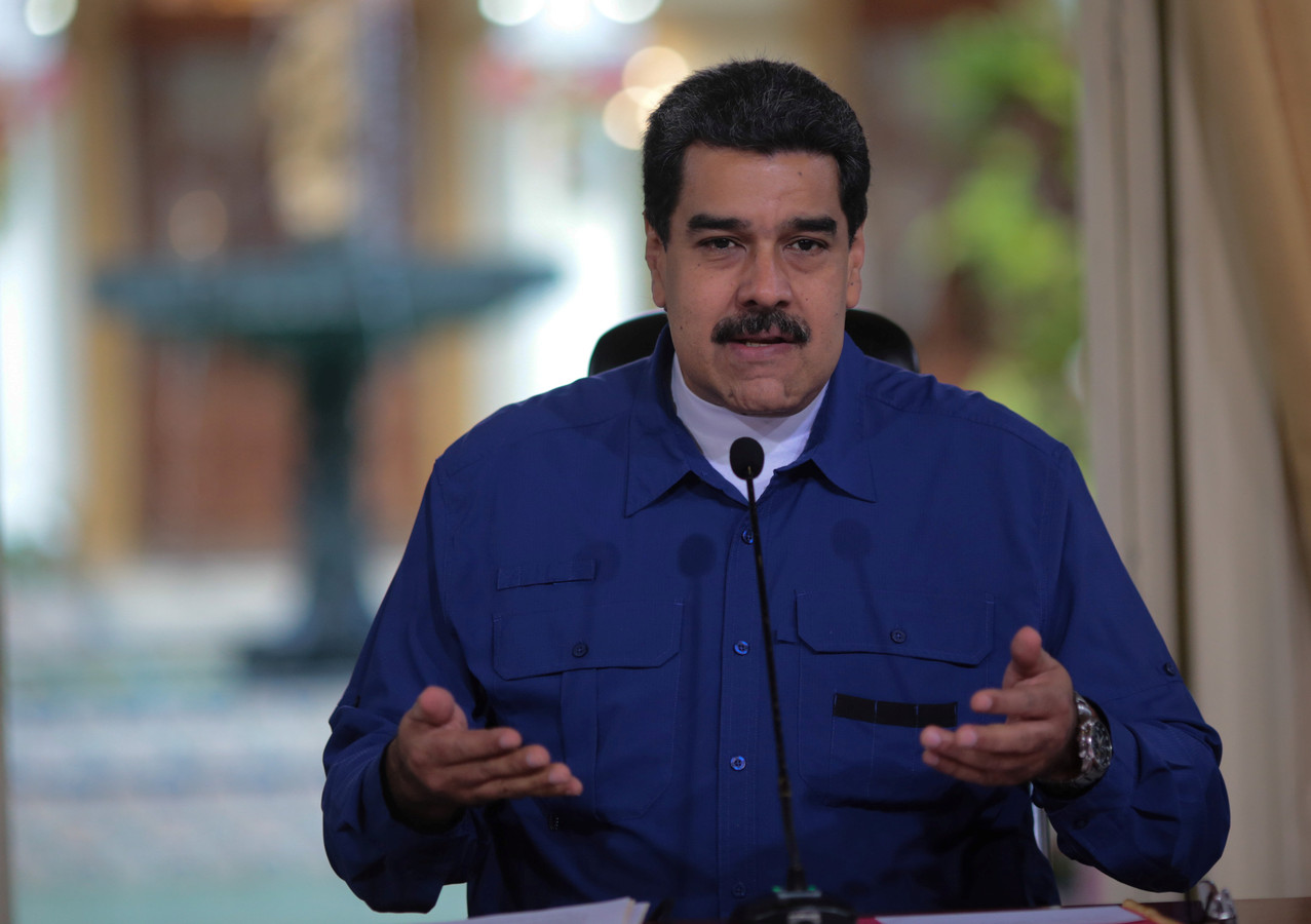 De Venezolaanse president Nicolás Maduro.