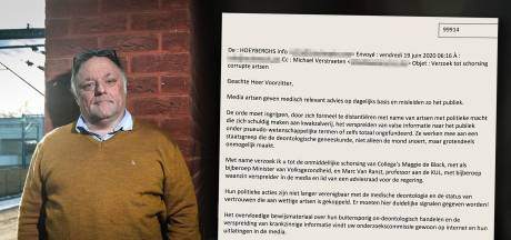 """""""Propagateur de folie"""": le chirurgien misogyne s'en prend une nouvelle fois à Marc Van Ranst"""
