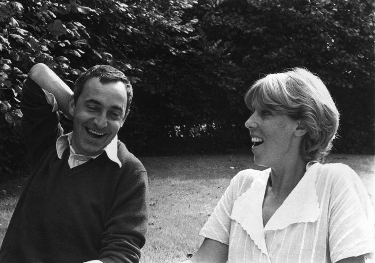 Johan Anthierens met zijn vrouw Elisabeth Erauw. Beeld