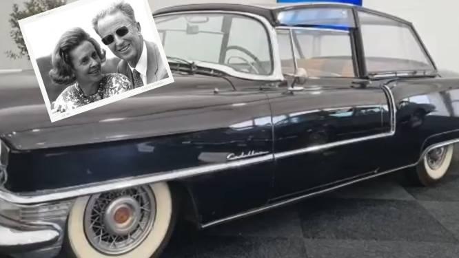 La voiture du mariage du roi Baudouin et de la reine Fabiola aux enchères