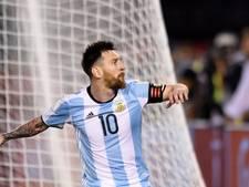 Messi vier wedstrijden geschorst na beledigen grensrechter