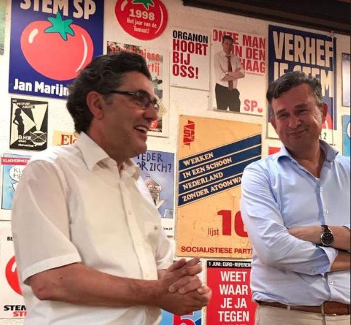 Henk van Gerven en Emile Roemer.