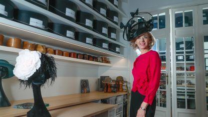 Fabienne Delvigne, hoedenmaakster van de royals, zit 30 jaar in het vak