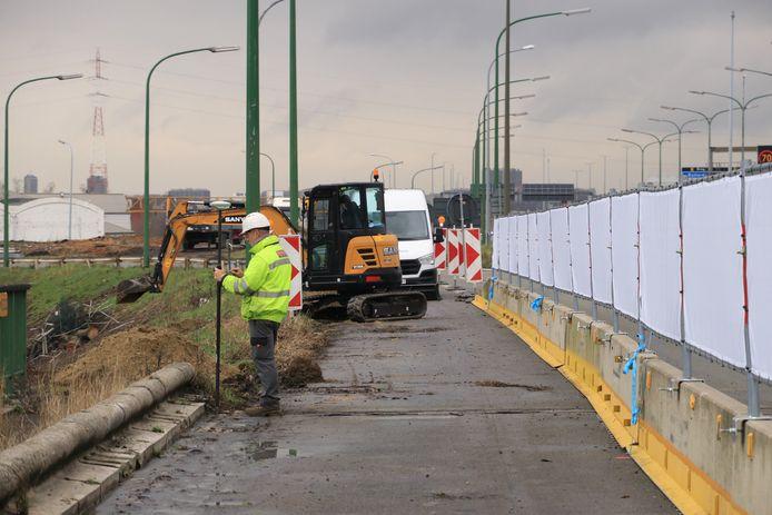 Op de Antwerpse Linkeroever zijn de werken aan de Oosterweelverbinding al gestart.
