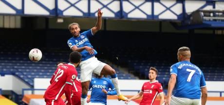 Liverpool morst in stadsderby door Everton-goudhaantje Calvert-Lewin