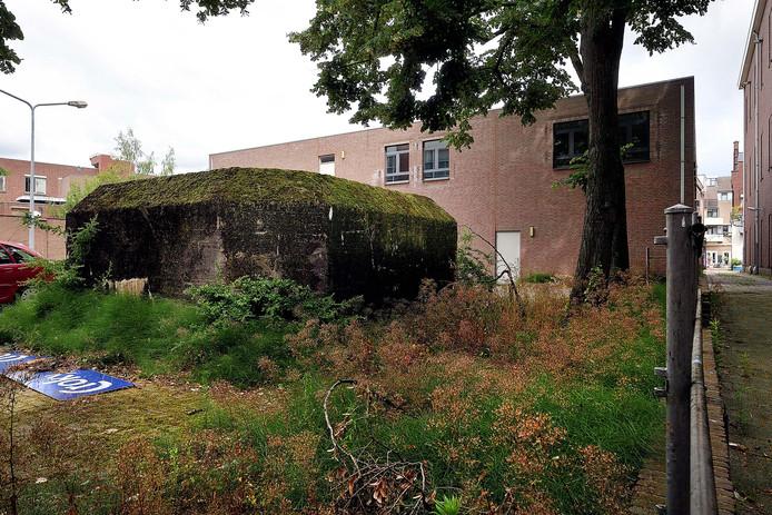 De Duitse bunker in  Roosendaal