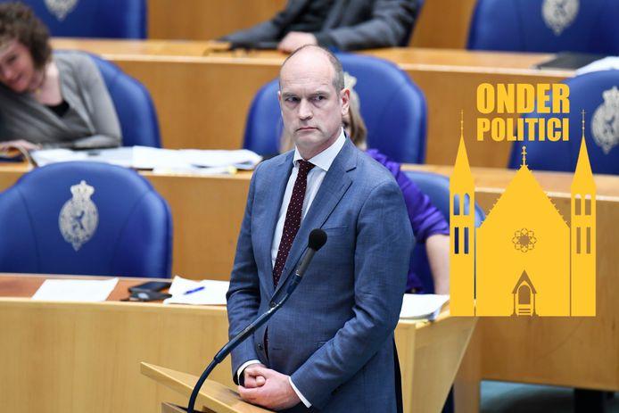 Gert-Jan Segers kreeg pislinke reacties op zijn besluit Rutte af te serveren.