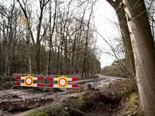 Oude Trambaan in Esbeek per direct afgesloten om aardgasleidingen te beschermen