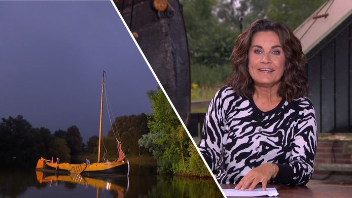 De Avondetappe in Enter, met presentatrice Dione de Graaff.