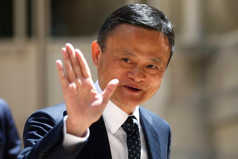 Jack Ma in 2019  in Frankrijk Beeld AP