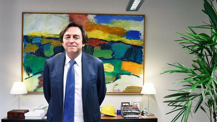 Hans Wijers Beeld Guus Dubbelman / de Volkskrant