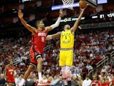 Geplaagde Golden State Warriors ook onderuit tegen Houston Rockets