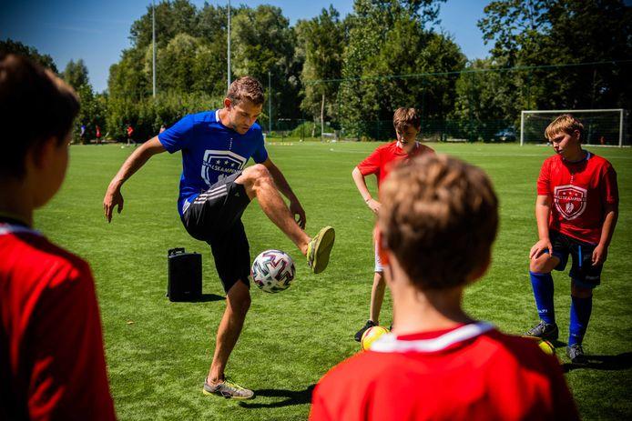 Panna en freestyle voetbalkamp zondag in Edegem.