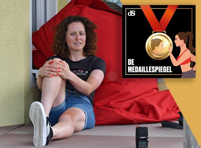 De medaillespiegel van Anne Terpstra.