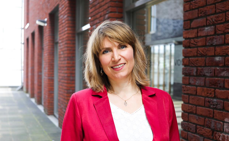 Laurien Saraber, directeur van het Amsterdams Fonds voor de Kunst. Beeld Eva Plevier