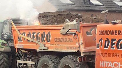 Arbeiders stoten op fosforgranaat