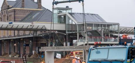 Onrustige nacht dreigt bij station Geldermalsen: werk aan de bestrating