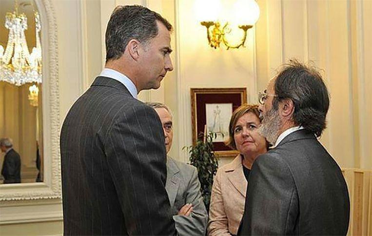 De vader van Hodei werd zelfs ontvangen door de Spaanse koning Felipe II. Beeld Facebook