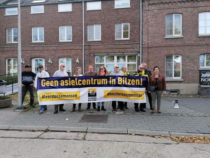 Vlaams Belang voerde ook al actie in Bilzen.