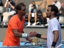 Rafael Nadal expéditif contre Fabio Fognini