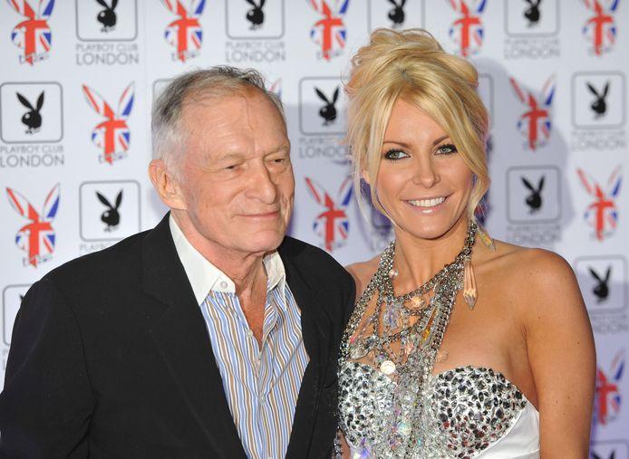 Crystal Hefner et Hugh Hefner, le fondateur de Playboy, décédé en 2017.
