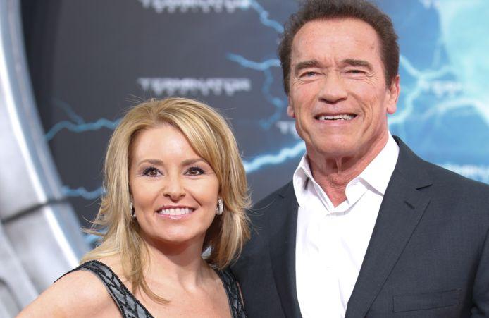 Arnold Schwarzenegger en z'n huidige vriendin Heather Milligan