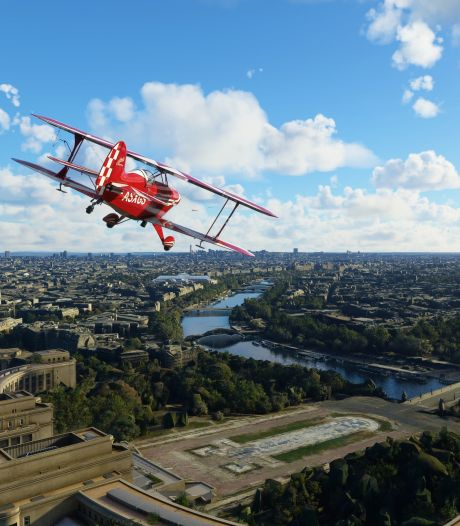 Update voor thuispiloten in Flight Simulator: heel Amsterdam in 3D