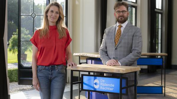 Vanavond om 21.15 zijn Jetske van den Elsen en rechter John Reid te zien op NPO1.