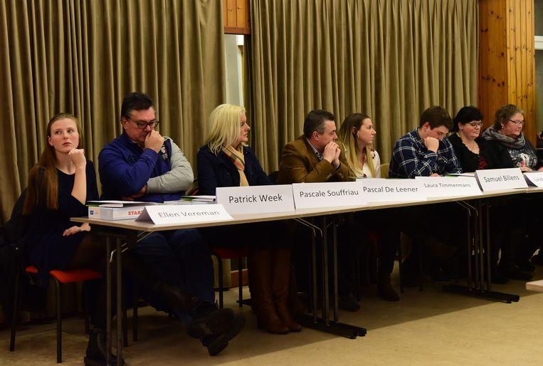 De nieuwe raadsleden kregen meer uitleg over  de werking van de gemeentediensten.